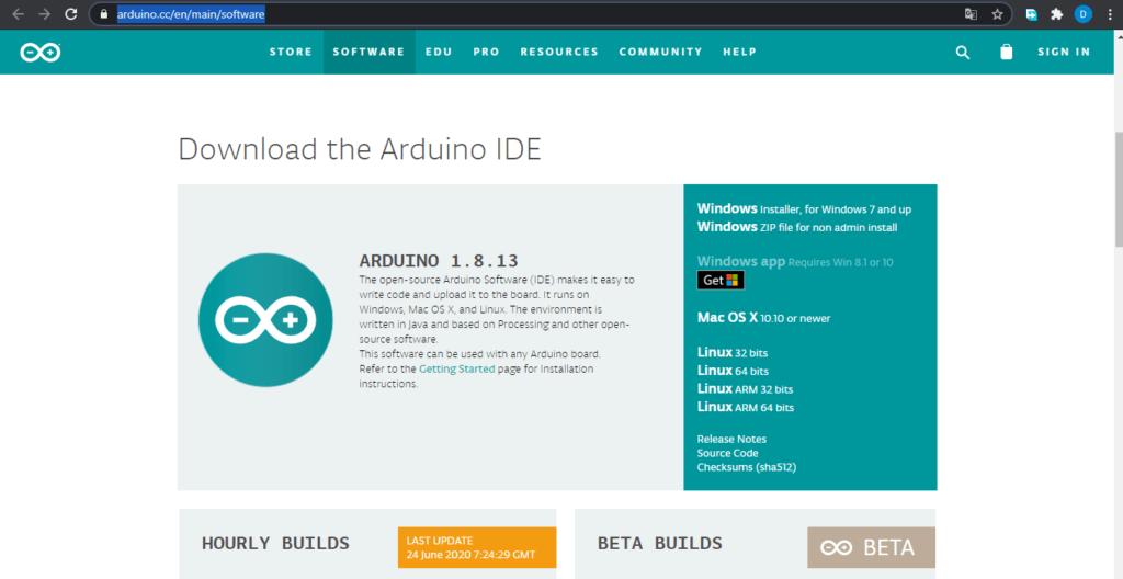 NodeMCU Esp8266, Instalacion del IDE Arduino 1 1